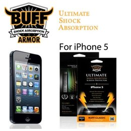 Wholesale Buff Shock - Buff Shock Ultimate Shock Explosion Proof Screen Protector For iPhone 5 5S 6 4 4S Samsung S5 S4 Xperia Z2 Z1 Z with Package