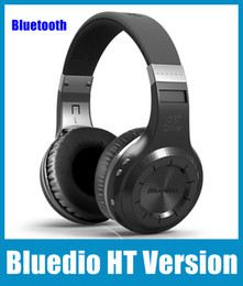 Wholesale Headset New Version - New Arrival Headphones Bluedio HT Version 4.1 Bluetooth Wireless Headset For Mobile Phone And Computers EAR113