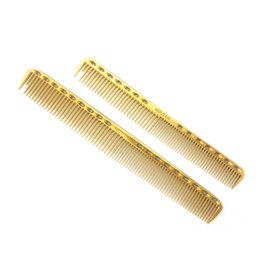 Wholesale Titanium Comb - Wholesale- Newest Hairdressing Comb Professional Hairdresser Titanium Comb Y-335 In 3 Colors 2 sizes Hair Cut Comb Ideal For Hairdressing