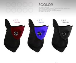 Wholesale Snowboard Scarf Mask - Motorcycle Bicyle Bike Fleece Face Mask Sports Dust Winter Warm Hats Cap Ski Snowboard Wind Hood Thermal Balaclavas Scarf