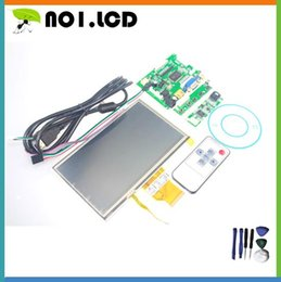 """Wholesale Pi Touch Screen - Wholesale-INNOLUX 7"""" Inch Raspberry Pi LCD Touch Screen Display TFT Monitor AT070TN90 With Touch Screen Kit HDMI VGA Input Driver Board"""