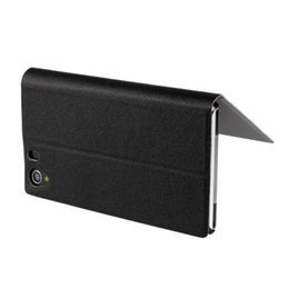 Wholesale Xperia Z1 Magnetic - For Sony Xperia Z1 L39h Ultrathin Side Flip Magnetic Leather Case Cover