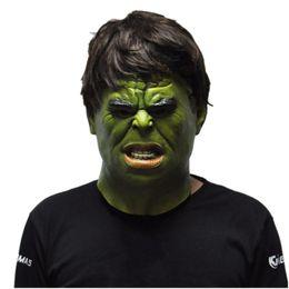 Wholesale Latex Movie Stars - The Hulk Masks Superhero Movie Cosplay Halloween Realistic Full Face Latex Mask Adult Costume Props Toys