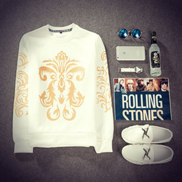 Wholesale Mens Galaxy - 12Styles Stylish Sweatshirts Men Galaxy Space Sweatshirt 2015 Uniform Sweatshirt ManTide Hedging Stitching Baseball Mens Hoodies FG1511