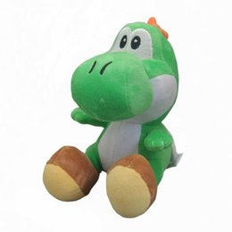 "Wholesale Yoshi Plush Dolls - Hot New 6.5"" 16CM Yoshi Plush Doll Anime Super Mario Bros Collectible Kid's Soft Dolls Best Gifts Stuffed Toys"