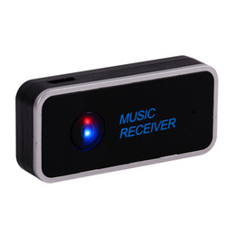 Wholesale Music Tuner - Bluetooth Receiver 3.5mm Streaming Home Car A2DP AUX Audio Wireless Music Receiver Adapter for Car Speaker Headphone