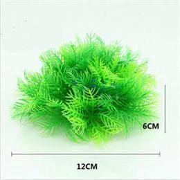 Wholesale Underwater Plants - 2014 New Artificial Green Plastic Underwater Plant for Fish Tank Aquarium Decoration