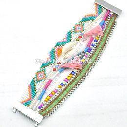 Wholesale Ipanema Bracelets - Wholesale-Factory direct sale Ipanema Style Bracelets Handmade multilayer combination fashion bracelets for women have S M L Size