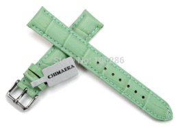Wholesale Watches Whosale - Whosale 14 16 18 19 20 21 22mm Colorfull Genuine Leather Watch Strap for hours Watch Band case for Tissot  Omega DW IWC Panerai