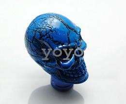 lexus corolla Rebajas Cabeza del engranaje de la cabeza del engranaje de la cabeza del engranaje modificado personalizado cabeza del club de la onda del cráneo del cráneo oro
