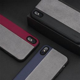 Wholesale Iphone Elements - Creative Element Pro Phone Case Double Color Stitching Case Anti-drop TPU Protective Phone Case Three Colors For iPhone X