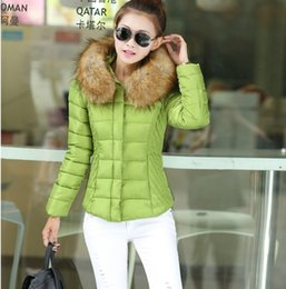 Wholesale 68 Led - Wholesale-Free shipping cultivate one's morality short winter heavy hair led the women's coat down cotton-padded jacket-68