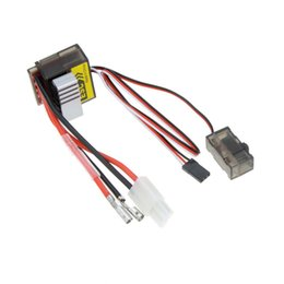Wholesale Esc Brush Rc - High Quality 320A Brushed ESC Speed Controller  w Reverse for 1 8 1 10 RC Flat off-road Monster Truck Truck Car Boat order<$18no track