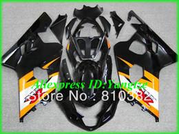 Deutschland Billig!!! Verkleidungskit für Suzuki GSX-R600 750 04 05 GSXR600 GSXR750 GSX-R600 750 K4 2004 2005 orange schwarz ABS Verkleidungskit SW25 Versorgung