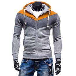 Wholesale Mens Korean Style Hoodies - hot sale hoody cardigan for men korean style men fashion hoodie Mens hoody clothes men hoodies Street fashion hoodies