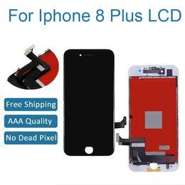 2019 accessori per telefoni cellulari Qualità AAA + per iphone 8 plus LCD touch digitizer assembly Nessun pixel LCD guasto per iphone 8 plus