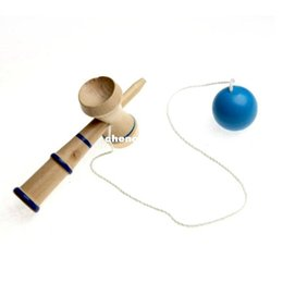 Wholesale Japanese Cup Ball Games - game kendama 13.5*3.5cm kendama cup-and-ball japanese toy wooden toy mini