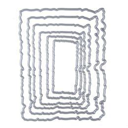 Wholesale Album Sets - 127*98mm frame set stencil Metal Cutting Knives Cutting Dies Practice DIY Scrapbooking Album Craft dies q171128