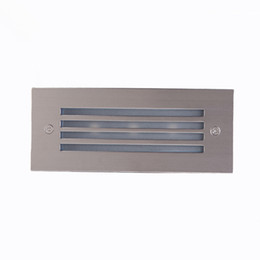 Wholesale Embedded Lamps - LED Wall Light Waterproof Lamp Outdoor Recessed Wall Lights Embedded Footlights 3W Led Stair Lamp LED Stair Light Outdoor Wall Lamps