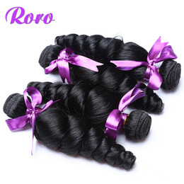 Wholesale Beauty Queen Peruvian Hair - wholesales malaysia virgin loose wave hair weaves queen hair products natural black human hair extensions 3 bundles one lot beauty weft
