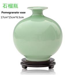 Wholesale Antique Ceramic Vase China - Jindezhen antigue imitation ceramic vase decorate art and crafts for home decor