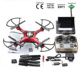 Wholesale Sport Camera Display - JJRC H8D 2.4Ghz Headless Mode One Key Return 5.8G FPV RC Quadcopter Drone 2MP Camera FPV Monitor LCD Display RTF