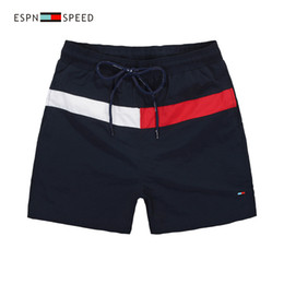 Wholesale High Waist Blue - Wholesale-2018 Brand New high quality shorts Men's Shorts Mens Summer Beach Surf Swim Sport Swimwear