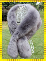 Wholesale Cheap Faux Fur Wedding Wraps - 2015 Free Size Bridal Wraps Cheap Price Faux Fur Winter Wedding Coats In Stock High Quality Colors Available Wedding Accessories Gown Cheap