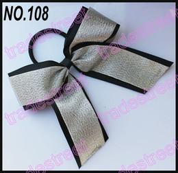 Wholesale Blue Cheer Bows - free shipping 30pcs 5-6'' cheerleading hair bows popular cheer hair clips for girl cheerlea