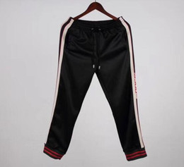 Wholesale Detachable Pants - Autumn Europe Italy Stars Fashion Men Sport Sweatshirt sleeves detachable Casual Women Zipper Jacket Hoodies band satin Pants tracksuit 001