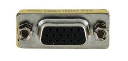 Adaptador cambiador de género 15pin hembra a hembra Conector VGA / SVGA Cable Extender desde fabricantes