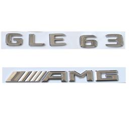 Canada Chrome Nombre Lettres Coffre Emblème Badge Autocollant pour Mercedes Benz GLE63 AMG 2017 Offre