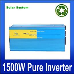 power inverter geführt Rabatt 12 Volt 24 Volt 48 Volt Wechselrichter 1500 W Wechselrichter Cruce 1500 W Pure Onda