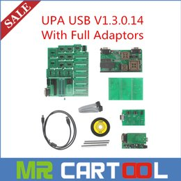 Wholesale Toyota Upa - 2015 Best UPA USB V1.3.0.14 With Full Adaptors UPA USB Programmer DHL Free Shipping