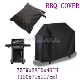 Wholesale Bbq Sizes - Large Size Waterproof Barbecue BBQ Cover Grill Outdoor Dust Rain Protective 190x71x117cm order<$18no tracking