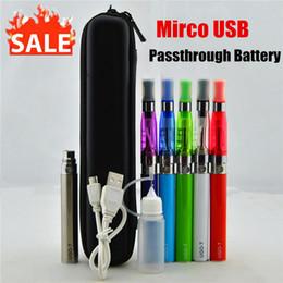 Wholesale Ego Multi Battery Charger - Ego ce4 ce5 kit ego charger usb micro usb starter kit UGO -T ego ce4 micro usb kit ugo battery 650mah 900mah 110mah Electronic Cigarettes