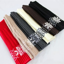 Wholesale Wool Leggings Girls - PrettyBaby Christmas arm warmers baby leg arm warmers cotton christmas warmers girl knee pad leggings leg warmers striped snowflakes A-0287