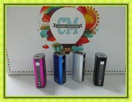 Wholesale Electronic Vv Battery - iStick 20W Mod Istick 30w iStick2200mah VV VW Electronic Cigarette Battery With OLED Screen fit Toptank mini VS Topbox mini Istick 50w