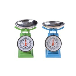 Wholesale house 13 - Wholesale- Hot Sale 1:12 Scale Miniature Green Platform Scale Dolls House Accessories,kitchen balance toy,pretend play toy