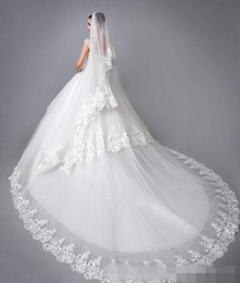 Wholesale Elegant Wedding Dress Train Cathedral - Elegant Lace Wedding Dresses Cap Sleeves Beaded Lace Appliques Backless Cathedral Train Ball Gown Wedding Dresses 2015