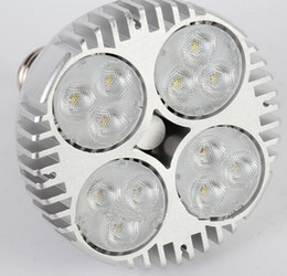 Wholesale nature shopping - CREE LED PAR38 40W 50W LED Spotlight Par 38 20 E27 Led Bulb with Fan for Jewelry Clothing Shop Gallery Led Track Rail Light Museum Lighting