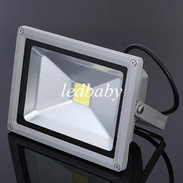 projecteurs utilisés Promotion Les lumières d'inondation imperméables de paysage de projecteur de 20w LED ont mené le panneau d'affichage allumant le blanc chaud de projecteur extérieur de 20W pour l'usage de jardin