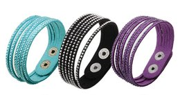 Wholesale Tennis Wristbands Wholesale - Luxury women bracelet multi-layers hot stamping rhinestone diamond bracelets men wristband tennis colorful charm jewelry