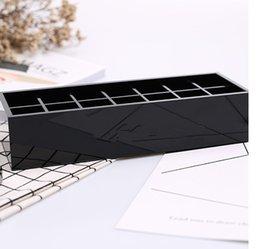 классический высококачественный акриловый туалет 14 сетка ящик для хранения / Косметические аксессуары для хранения с подарочной упаковкой VIP подарок от