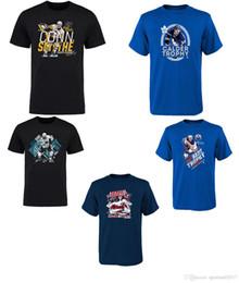 Wholesale Penguin Shirts - Sidney Crosby Pittsburgh Penguins Black 2017 NHL Conn Smythe Award T-Shirt for man women kid NHL jersey