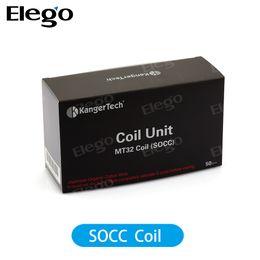 Wholesale Protank Coil Only - Kanger SOCC Coil Protank Coils 2.5ohm ONLY Kanger evod Coil Upgade SOCC Coils for kanger Protank Protank 2 Mini Protank 2 Unitank Evod Atom