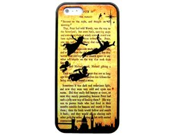 "Wholesale Tinkerbell Iphone 5s Case - PETER PAN TINKERBELL BOOK QUOTE customized fashion design for iphone 6 case 4.7"" plus 5.5"" for iphone 4 4s 5 5s 5c Back cover phones case"