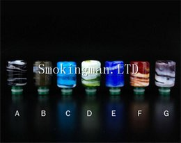 Wholesale Pyrex Dct - Wide bore drip tips Pyrex glass Resin Wide Bore Drip Tip Mouthpiece fit protank ego WAX Globe RDA Vaporizer DCT Clearomizer Atomizer tank