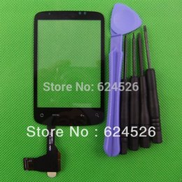 Wholesale Digitizer Wildfire - Wholesale-free shipping top quality DIGITIZER touch screen For HTC wildfire A3333 G8 without IC FREE TOOLS