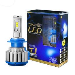 Wholesale Car Lamp H13 White - Car LED Headlight H4 H13 9003 9007 HB5 9004 HB1 40W White 6000K Bulbs Replace Bi Xenon Lamp